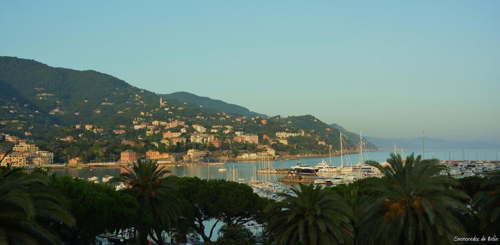 Turismo en Liguria. Rapallo.