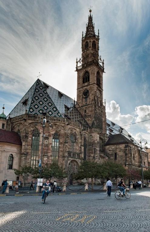 Catedral de Bolzano.