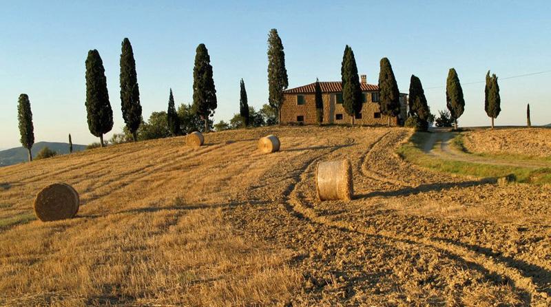 La Toscana de postal: agriturismo I Cipressini.