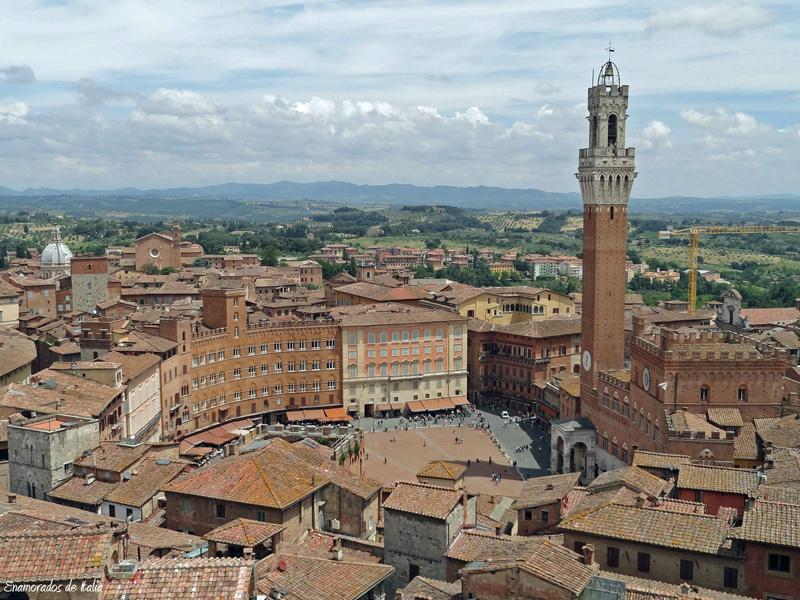 Siena la perla de la Toscana.