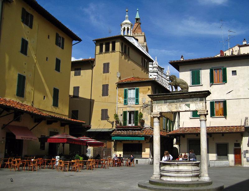 La Sala de Pistoia, Toscana.