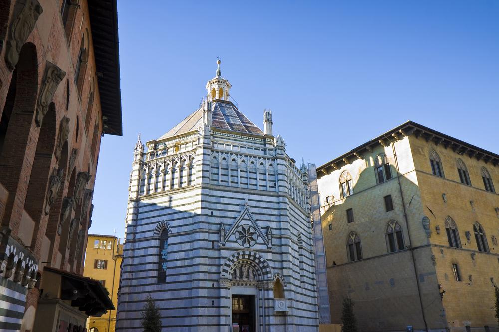 Baptisterio de Pistoia.