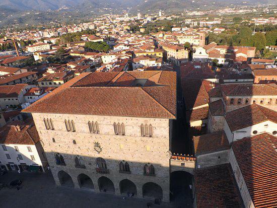 Panorama de Pistoia, Toscana.