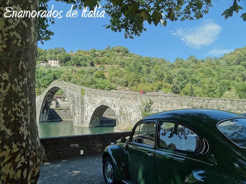 Puente del Diablo, Borgo a Mozzano, Toscana.