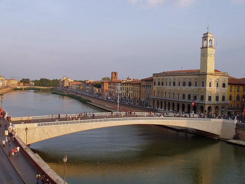 Ponte di Mezzo, Pisa.