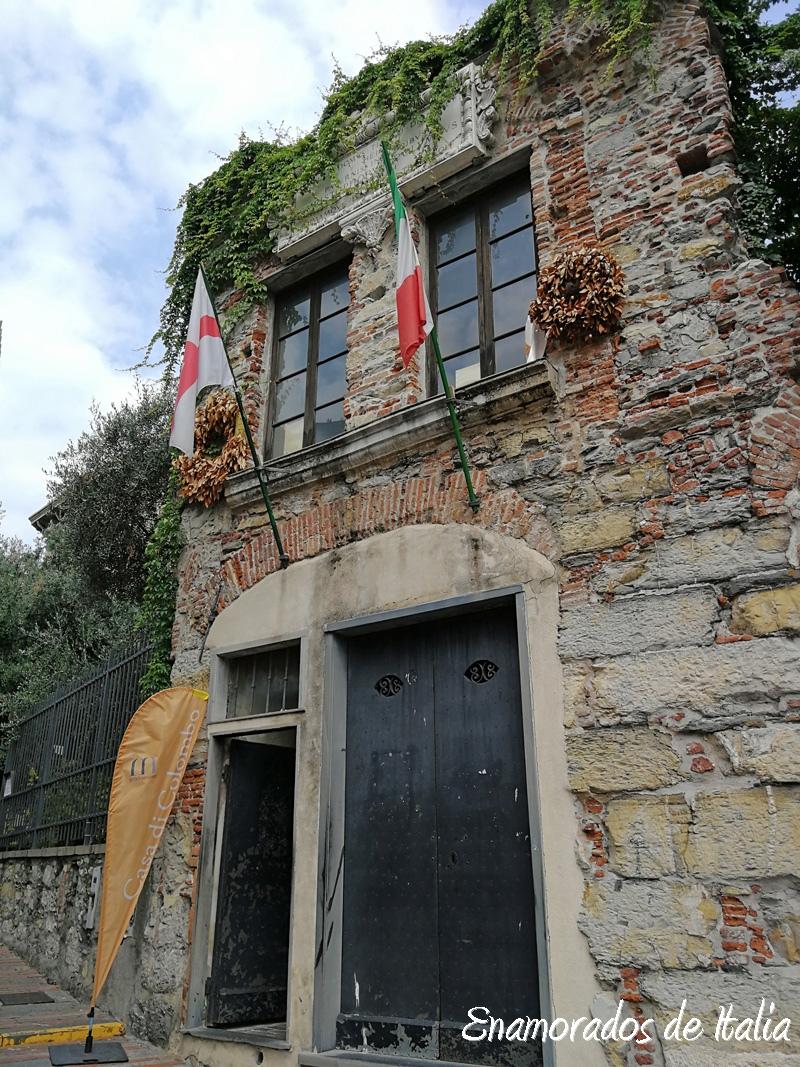 casa Colon Génova.