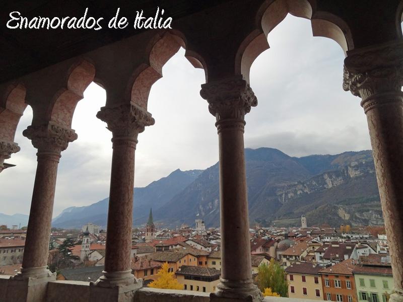 panorama de Trento desde la panorama de Trento desde el Castillo del Buonconsiglio