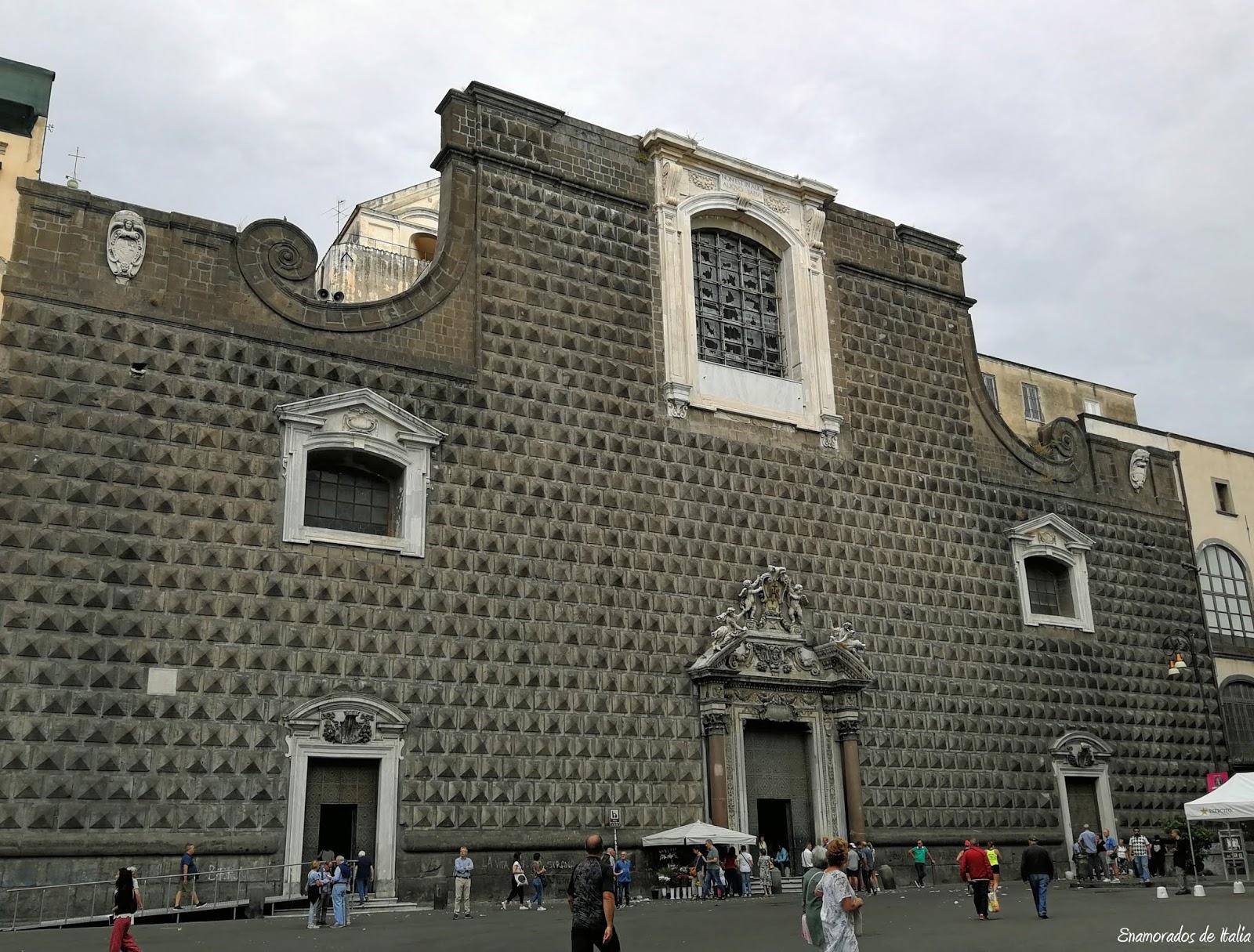 Iglesia del Gesù Nuovo, Nápoles en 48 horas.