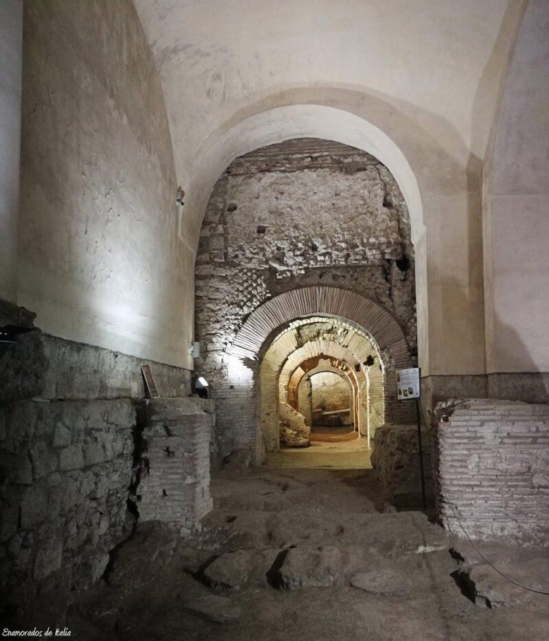 Neapolis sotterrata, San Lorenzo Maggiore, Nápoles