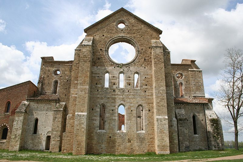 San Galgano, Toscana.