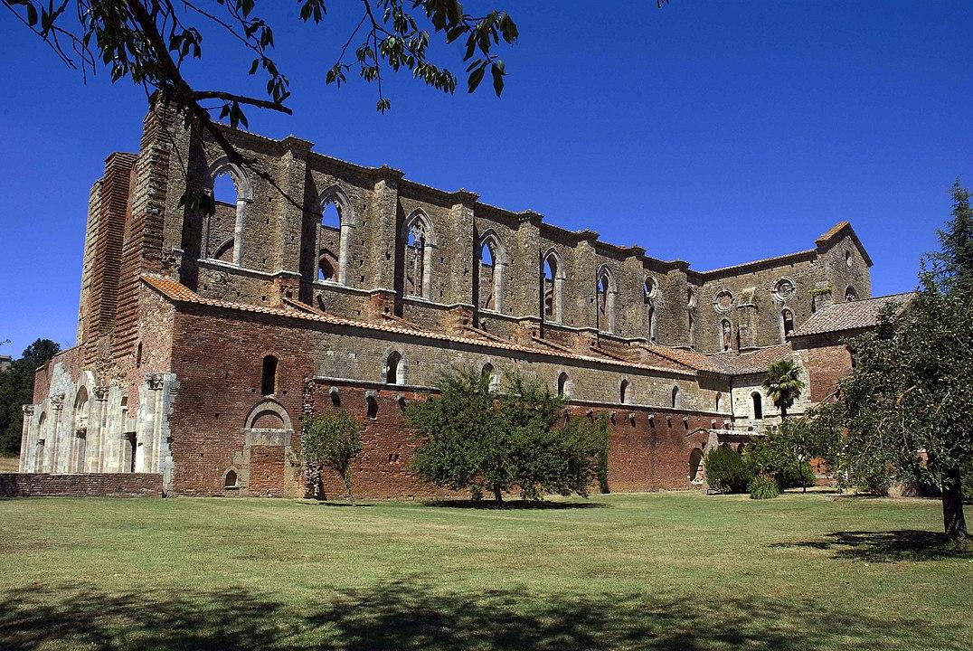 Abadia San Galgano, Toscana.