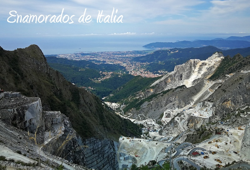 Carrara: visita a las canteras de mármol.