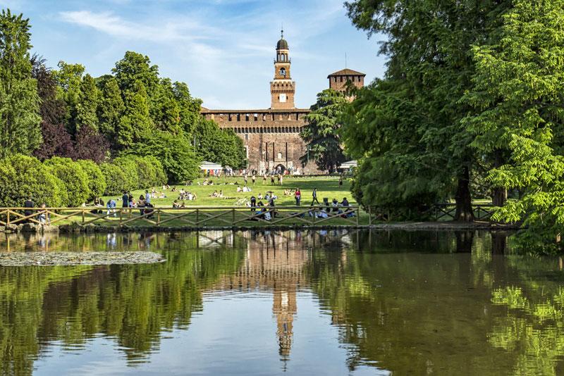 48 horas en Milan Parco Sempione
