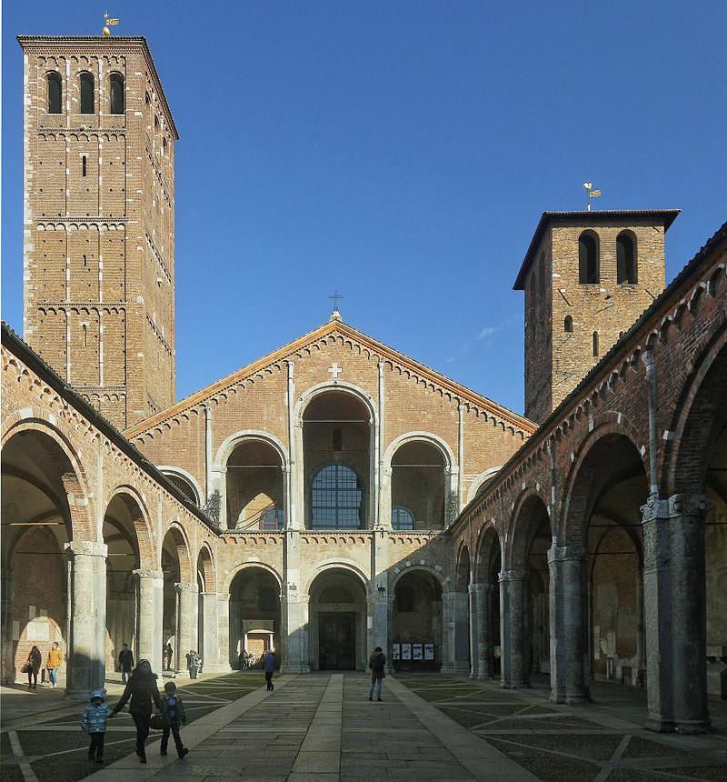 Basílica de Sant'Ambrogio, Milan