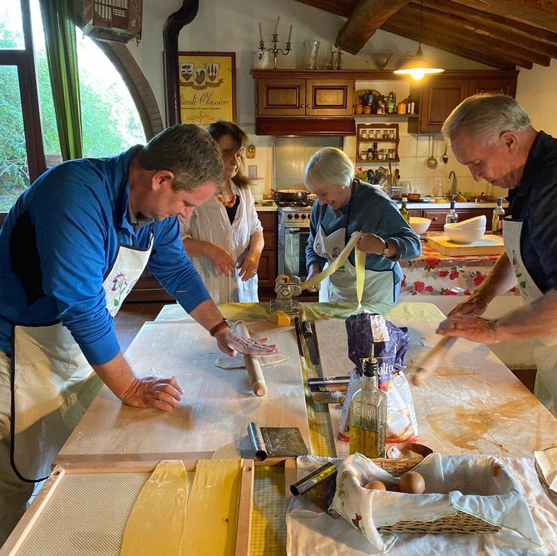 Clase de Cocina Toscana Mia