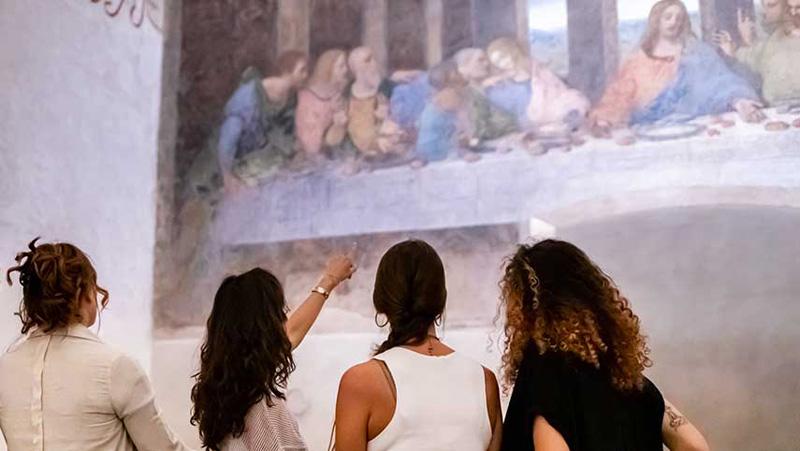 Museo Cenacolo Vinciano, Milan 48 horas