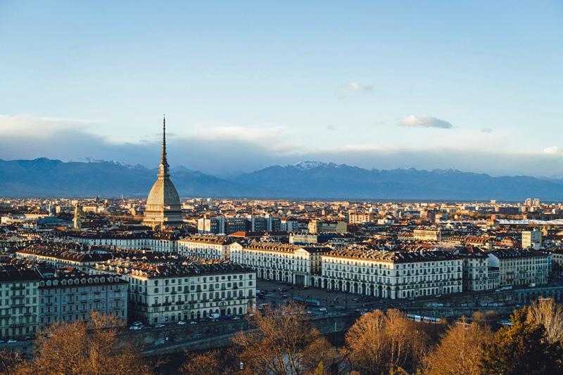 24 horas en Turin Molle Antonelliana