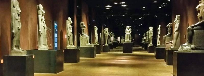 galeria de los reyes museo egipcio turin