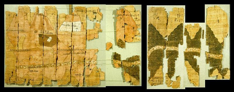 papiro de las minas de oro foto wikimedia.org