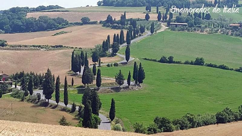Monticchiello, Val d'Orcia, Toscana.