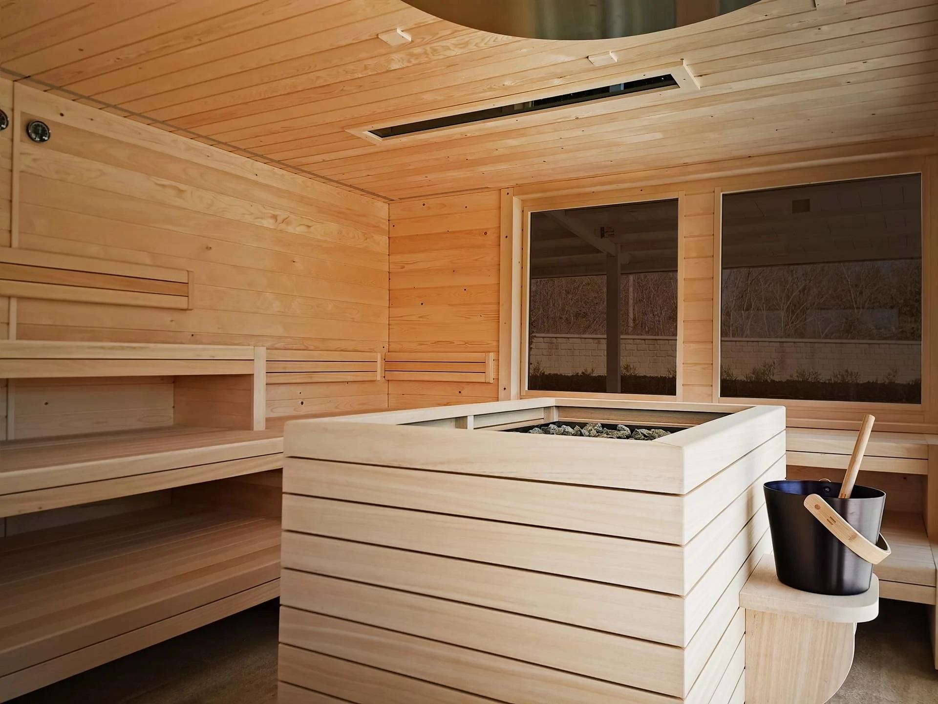 Terme di Saturnia Sauna Finlandesa.
