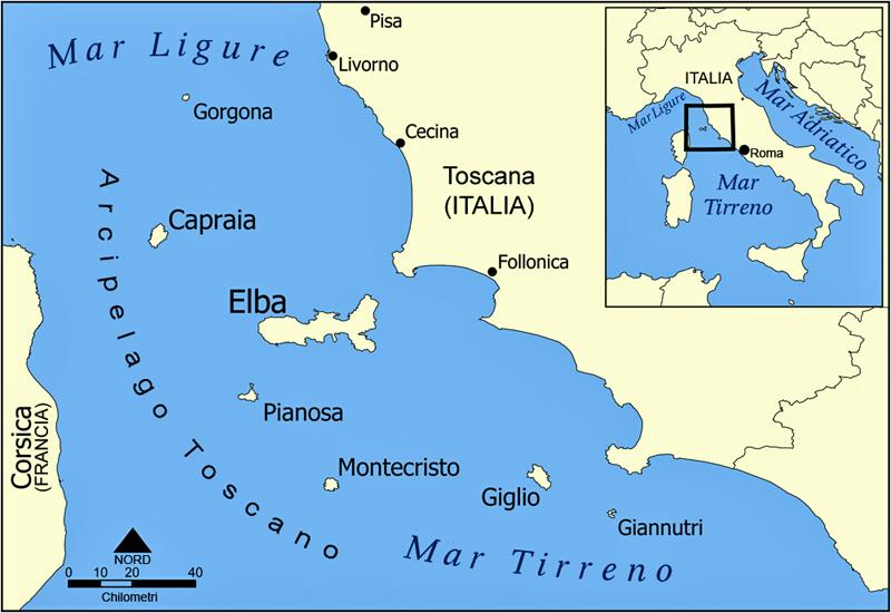 Archipiélago Toscana.