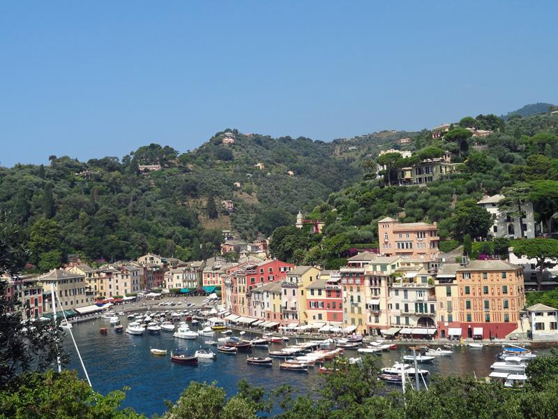 Turismo en Liguria. Portofino