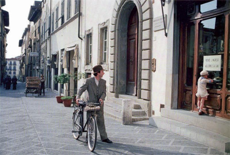 La Toscana de película. La vida es bella.