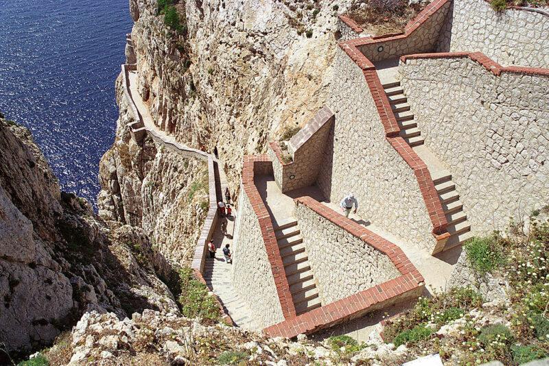 Capo Caccia Escala del Cabirol.