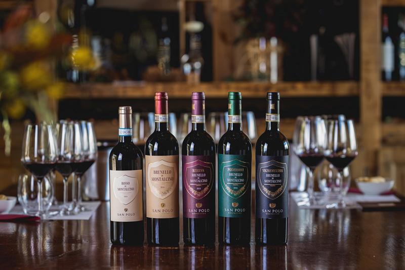 Los vinos de San Polo en Montalcino