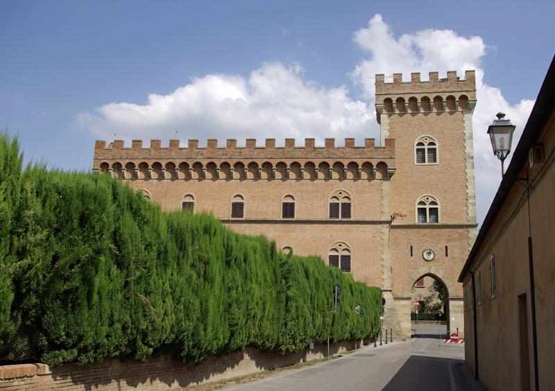 Castillo de Bolgheri.