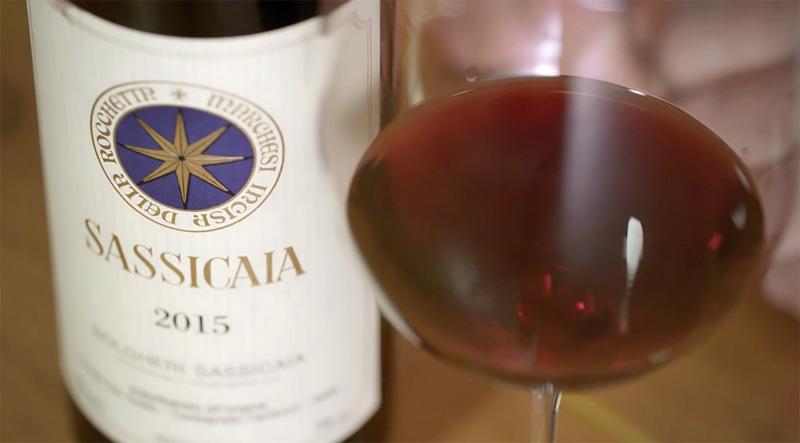SuperTuscan Sassicaia.